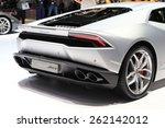 Постер, плакат: A Lamborghini LP 610 4