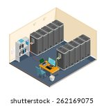 a vector illustration of a... | Shutterstock .eps vector #262169075
