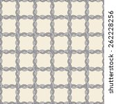 seamless twisted rope pattern ... | Shutterstock .eps vector #262228256