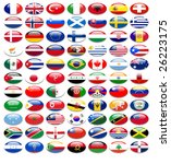 flags of nations | Shutterstock . vector #26223175