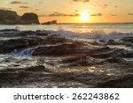 The Rocky Shore And Headland...
