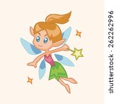 fairytale princess theme... | Shutterstock . vector #262262996