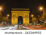 arch of triumph of the star ... | Shutterstock . vector #262264952