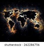 burned world   Shutterstock . vector #262286756