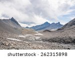 trekking in the muverans tour... | Shutterstock . vector #262315898