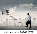 going to the office  | Shutterstock . vector #262419572