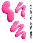 Pink Nail Polish Spills