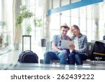 digital technology and... | Shutterstock . vector #262439222