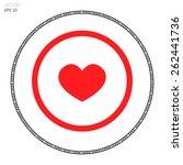 pulse love   Shutterstock .eps vector #262441736