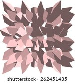 geometric background | Shutterstock .eps vector #262451435