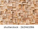 Close Up Of Wood Texture Of Cu...