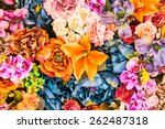 Flower Background   Vintage...
