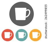 tea cup icon | Shutterstock .eps vector #262499855