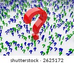 so many questions | Shutterstock . vector #2625172
