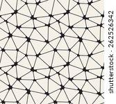 vector seamless pattern. modern ... | Shutterstock .eps vector #262526342