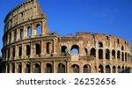 the coliseum of rome | Shutterstock . vector #26252656