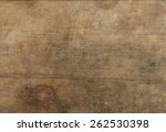 old weathered wood texture with ... | Shutterstock . vector #262530398