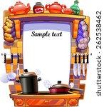 kitchen | Shutterstock .eps vector #262538462