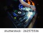 Dj Playing Disco House...