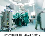surgeons are operating in a... | Shutterstock . vector #262575842