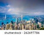 Hong Kong  China Cityscape Fro...