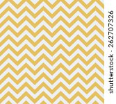 Seamless White And Gold Zigzag...