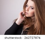 young sensual   beauty model... | Shutterstock . vector #262727876