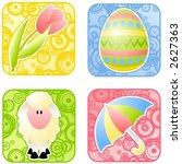 elements of spring   Shutterstock .eps vector #2627363