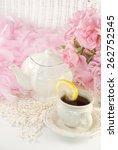 A Vintage Feminine Tea Party...