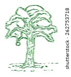 art tree | Shutterstock .eps vector #262753718