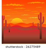 background with american... | Shutterstock .eps vector #26275489