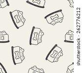 dog food doodle drawing... | Shutterstock .eps vector #262776212