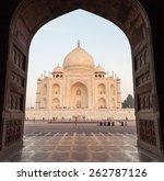 taj mahal   agra. india ... | Shutterstock . vector #262787126
