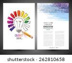 design of progress bar  loading ... | Shutterstock .eps vector #262810658