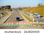 vilnius  lithuania   march 8 ...   Shutterstock . vector #262820435