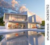 3d rendering of impressive... | Shutterstock . vector #262830752