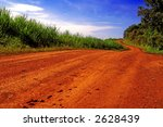 Red Road In Africa.
