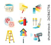 painting work decorative icons