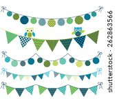 Owl Bunting Banner
