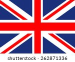 united kingdom flag | Shutterstock .eps vector #262871336