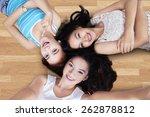 unique perspective of three... | Shutterstock . vector #262878812