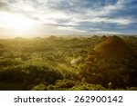 View Of The Chocolate Hills....