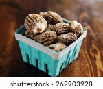 Freshly Picked Morel Mushrooms...