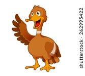 vector image of a cartoon... | Shutterstock .eps vector #262995422