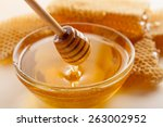 Honey  Honeycomb  Honey Bee.