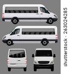passenger bus | Shutterstock .eps vector #263024285