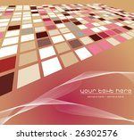 mosaic color illustration... | Shutterstock .eps vector #26302576