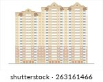 buildings and structures of the ... | Shutterstock . vector #263161466