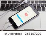 warszawa  poland   december 16  ... | Shutterstock . vector #263167202