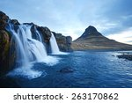Kirkjufell Mountain With...